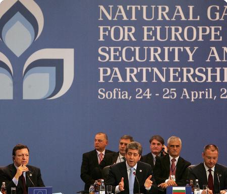 Energysummit2009.bg- Natural Gas for Europe: Security and Partnership- Sofia, 24- 25 April 2009
